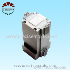Connector mould part processing
