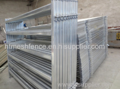 Oval Pipe Cattle Yard Panels