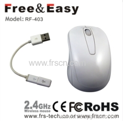 2.4g wireless optical usb mouse