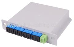 8 cores Blade Inserting Type Ftth PLC Splitter