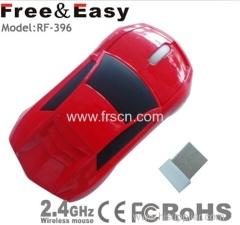 Mini car optical mouse