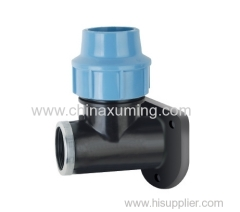 PP Wall Plated Elbow Pipe Fitting