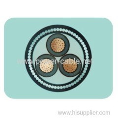 Steel wire armored indoor cable