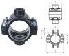 PP Double Clamp Saddle PN10 Pipe Fittings