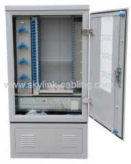 288 cores fiber optic cross cabinet