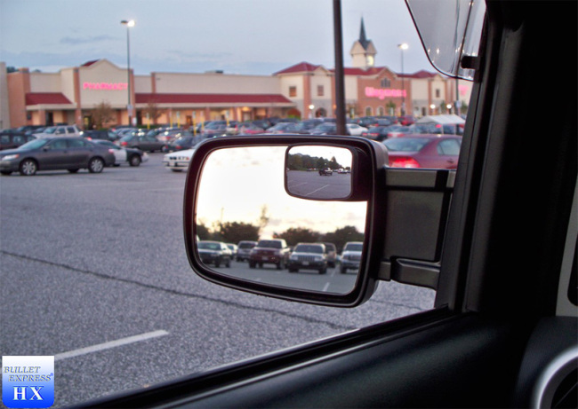 """2PCS CAR BROOKSTONE SAFETY BLIND SPOT MIRRORS DRIVING ANGLE VIEW 2/"""" ~MO"""