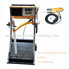 powder coating machinery factory