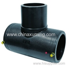 HDPE Electrio Fusion Equal 90 Degree Tee Pipe Fittings