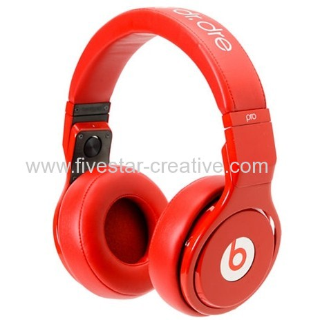 Beats Pro Lil Wayne Beats Pro All Red Over-Ear Limited Headphones