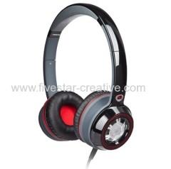Wholesale Monster Ncredible Ntune On-Ear Headphones Black with Red