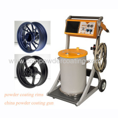powder coating spraying system