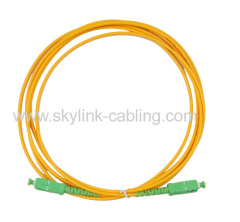 single mode simplex 9/125um corning fiber 2.0 optic cable SC/APC-SC/APC patch cord