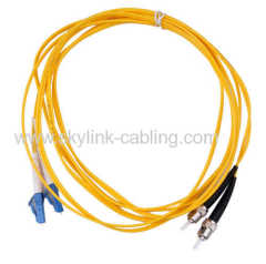 FC/UPC-LC/UPC SM DX Patch Cord