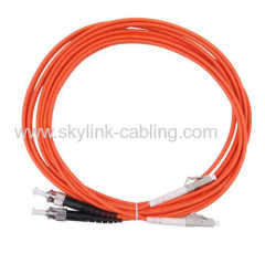 LC/PC-ST/PC SM DX patch cord