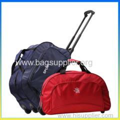 foldable travel trolley luggage bag