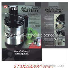 Power Juicer Инструкция