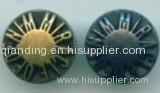 MOD Alloy Rivet and button zipper