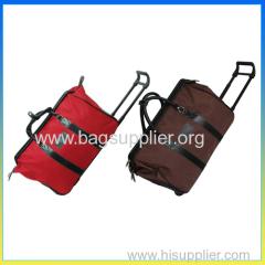classic trolley luggage bag