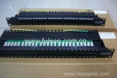 RJ11 cat3 voice patch panel