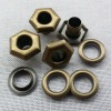 12*6*7mm for Metal Shoe Eyelet