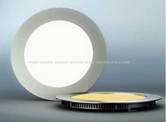 die-cast aluminum round and square white light super thin 6w 8w 9w 12w 14w 18w 20w 22w led panel light