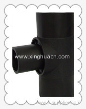 HDPE socket fusion fittings reduced tee