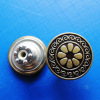 Jeans Metal Shank Button for the garment