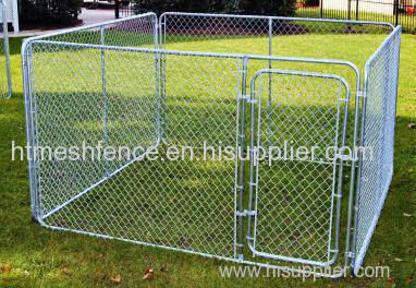 Temporary dog wire panel temporary dog cage