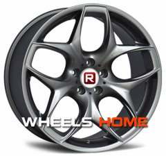 X6 Staggered alloy wheels