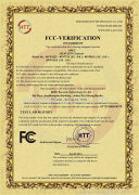 FCC   Certification  for  HD-IP   camera