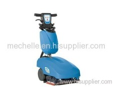 Portable automatic floor scrubber