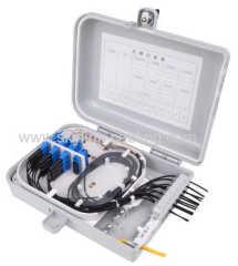 16 cores fiber optic terminal box