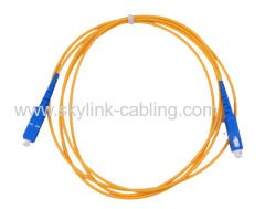 SC single mode Simplex fiber patch cord