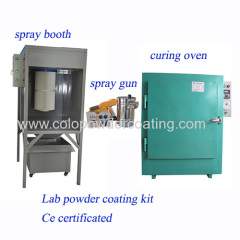 China powder coating system