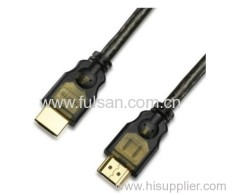 factory wholesale Super speed HDMI cable V1.4 type A male to male V1.4