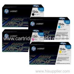 124A Hp Laser toner cartridges printer toner