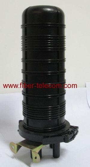 Vertical Type Heat Shrink Optical Fiber Enclosure Ofc D001