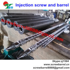 screw and barrel for plastic
