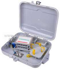 16 cores distribution box with inserted box