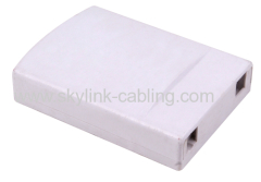 mini FTTH fiber optic box type 2
