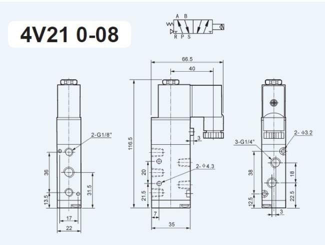 095104541101 4v210 08 airtac type solenoid control valve dc 24v manufacturer airtac 4v210-08 wiring diagram at crackthecode.co