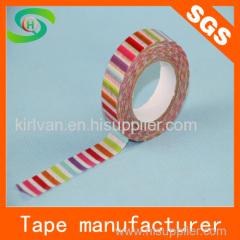 Printed Washi Paper Tape