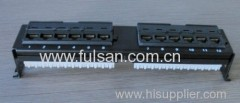 RJ45 CAT5E 12/24/48 Port Patch Panel