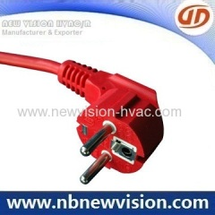 Schuko plug VDE power cord