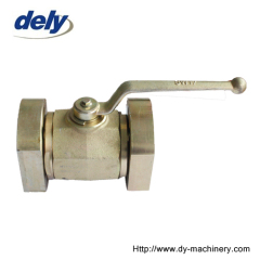 Chinese factory flanged ball valves
