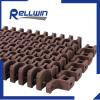 Turning Radius Flush Grid S2400 modular plastic belts for machiney equipment