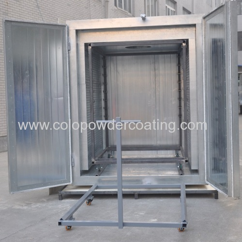 electrostatic powder paint coating oven