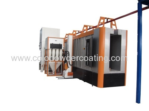 powder coating spraying booth