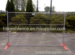 6feet height Galvanized Canada temporary construction fence panel