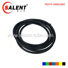 25.4mm Silicone Vacuum Hose Tube High Performance Black vacuum hose